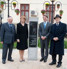 In Bucharest, the Princess Margareta of Romania and her nephew, Prince Nicolas , attended the unveiling of a commemorative plaque Alexandru Safran Elizabeth Ii, Romanian Royal Family, First Daughter, Noblesse, Bucharest, Descendants, British, King, Queen