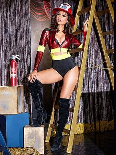 Mine very naked firefighter pin up business