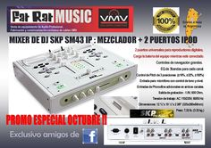 Mixer de dj SKP - Audiotienda VMV