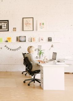 The Bright & Happy Studio of Hum Creative — Professional Project | Apartment Therapy