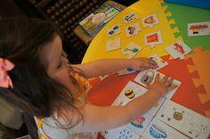 Montessori Pre reading Activity