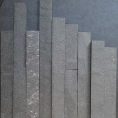 slate ish 1 strips materials 100 reclaimed paper measurements2 18