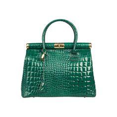 Geanta dama Made in Italia Brescia verde Hermes Birkin, How To Make, Bags, Fashion, Italia, Handbags, Moda, Fashion Styles, Taschen