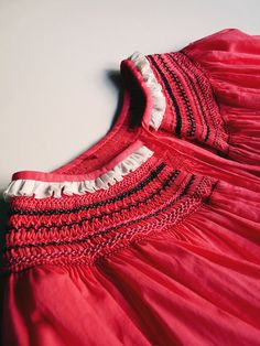 valentine's day smocked dresses