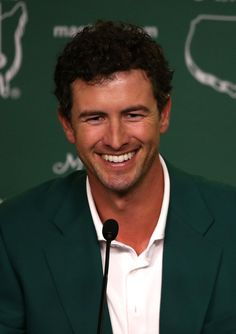 Adam Scott... green jacket!
