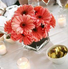 Gerber Daisy Wedding Table Centerpieces | Wedding Flowers Guru » Wedding Flowers For The Bride To Be Wedding ...