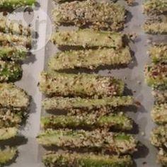 Rezeptbild: Low Carb Zucchini Pommes