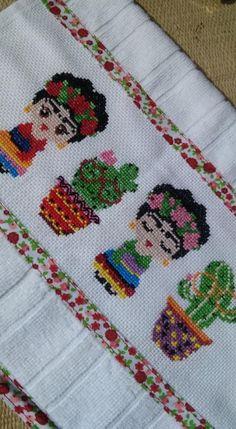 Ribbon Embroidery, Cross Stitch Embroidery, Cross Stitch Patterns, Diy Home Crafts, Hama Beads, Cross Stitching, Pixel Art, Crochet, Diy Gifts