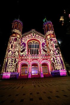 Northern Lights, Adelaide Festival. Adelaide, South Australia.