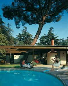 C. Buff / C. Straub / D. Hensman, Case Study House #20, Altadena, California