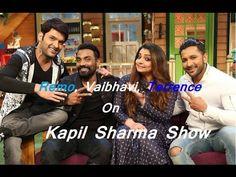 Choreographers Remo, Vaibhavi and Terence to Grace The Kapil Sharma Show