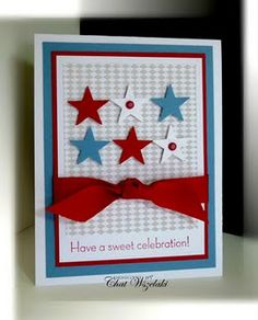 4th of july style card
