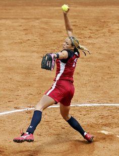 Jennie Finch pitching again ;)