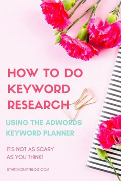 how to do keyword research using the adwords keyword planner + free blog post template for you to steal. Keyword research can be so difficult so check out these tips for creating super share worthy blog content!