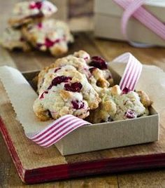 White Chocolate Cranberry Cookies 1
