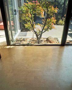 Cork Flooring: Private Residence– Eichler home