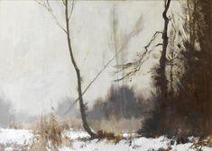 The Fen in January - Norfolk. Edward Seago