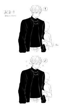 Hot Anime Boy, Anime Guys, Rap Battle, Hot Boys, Cute Love, Anime Manga, Womens Fashion, Sleeves, Manga Drawing