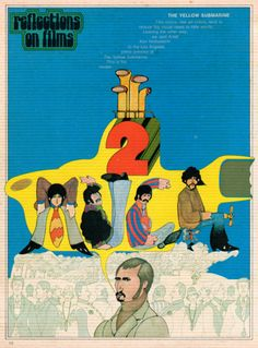 Film critics like art critics tend to reduce big visual ideas to little words. Leaning the other way we sent artist Karl Nicholason to the Los Angeles press review of The Yellow Submarine. This is his review. 50 Watts