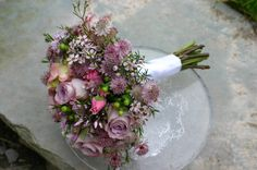 To much pink but Ilike the roses mixed with the astrantia?