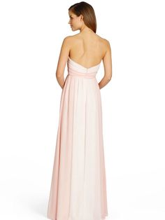 This beautiful A-line Occasions by Jim Hjelm dress has a chiffon fabric with a strapless neckline in a rose & melon shade of colour. Product code JH5357.  View more Bridesmaid dresses from our JLM Couture Occasions by Jim Hjelm collection at: http://www.baroqueboutique.co.uk/bridesmaids/  Photographs courtesy of: http://www.jlmcouture.com/Jim-Hjelm-Occasions/