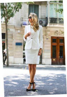 White Sheath Dress Trilogy, Part II: CONSERVATIVE