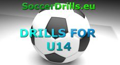 Check out a new set of soccer drills for U14 at soccerdrills.eu  #soccer #drill #drills #soccerdrills #football #training #skills