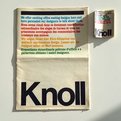 Featuring artifacts from the Massimo and Lella Vignelli papers as they are unpacked and processed at the Vignelli Center for Design Studies. Massimo Vignelli, Tumblr, Document, Visual Communication, Design Process, Zine, Typography Design, Meant To Be, Graphic Design