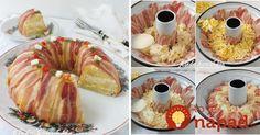 Tip na perfektné predjedlo z formy na bábovku: Slaný veniec pripravíte jednoducho a bude ozdobou veľkonočného stola!