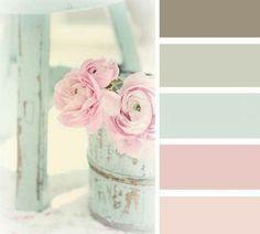Pastel tinten... kleuren voor mijn kamer
