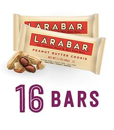 Larabar Gluten Free Bar Peanut Butter Cookie 17 oz Bars 16 Count *** Want to know more, click on the image. (This is an affiliate link and I receive a commission for the sales)