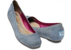 TOMS Ballet Flats. I would love these for the spring...and summer...and fall...and probably winter too