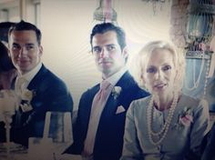 Groom, Best man & Mother of the groom and best man proud day for Mrs Cavill