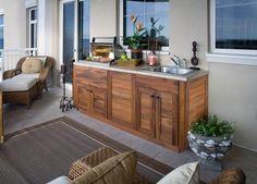 Pinterest & 22 Best outdoor kitchen on wooden deck images in 2019   Outdoor ...