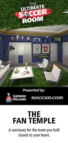 The Ultimate Soccer Room Promotion