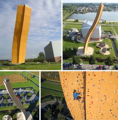 Oh my!  I don't know if I would ever make it to the top...  The Excalibur Tower - The Netherlands  weburbanist.com