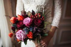 Preparing for Fall #bouquet #wedding