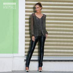 Street Style: easy chic para noite #territorioanimale #animalebrasil