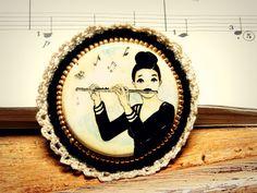 para la profesora de flauta