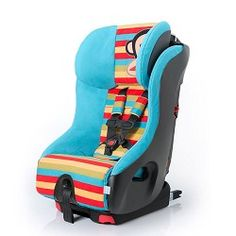 Clek Foonf Crypton Super Fabric Convertible Booster Seat- Paul Frank Zoom Julius