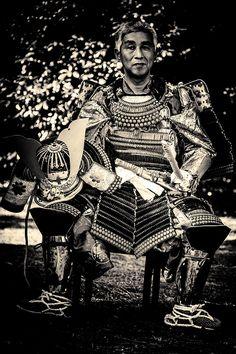 Samurai costume for Jidai Matsuri Festival, Kyoto, Japan