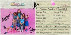 Just in time for back to school shopping, LuLaRoe has made a permanent price change to our Kid's Collection. Stock up now and be school ready on the first day! #lularoeschooled