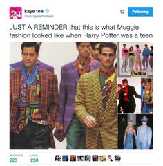 Harry Potter movies would have been so much better if the costume designers cared about accuracy