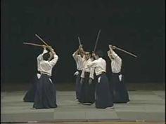 Kanshu Sunadomari Aikido Master Aikido Friendship Demostration 1985 Part 2 - YouTube