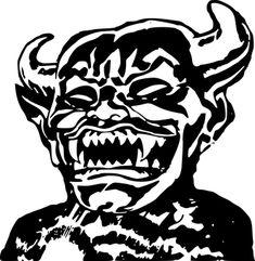 Demon, Devil, Evil, Horns, Horror