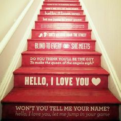 25 Brilliant Ways to Decorate Your Stairs via Brit   Co