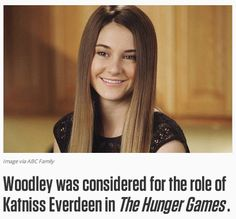 Facts about Shailene Woodley that you probably didn't know :)