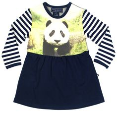Panda Dress - Toobydoo