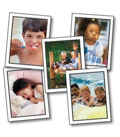 Talk About A Child's Day Learning Cards - Carson Dellosa Publishing Education Supplies
