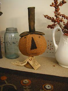 Primitive Pumpkin Head
